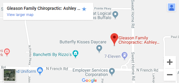 Map of Amherst NY Chiropractors